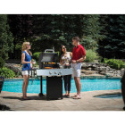 GrillPro 3-Burner Stainless Steel & Black 30,000 BTU LP Gas Grill Image 2